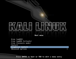 kali linux install guide